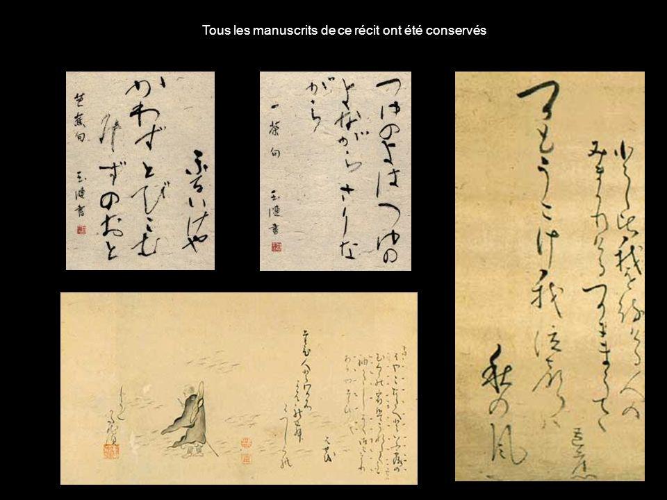 En 1689, Bashô entreprend avec lun de ses disciples un long voyage à pied dans le nord du Japon Il tient un journal, dessine, compose de la poésie Ce