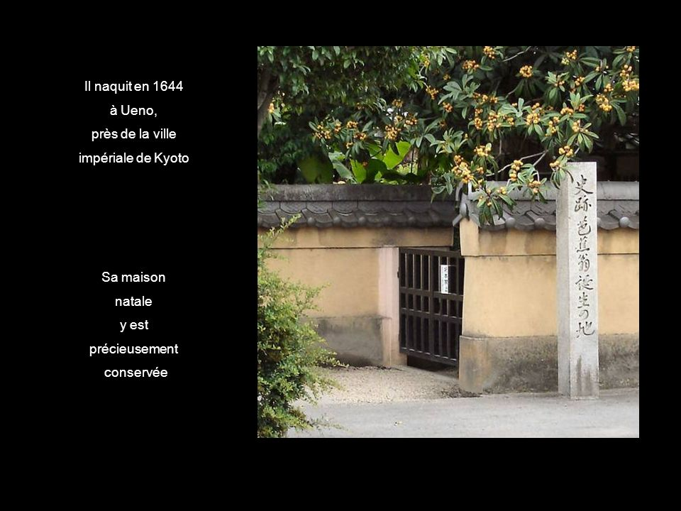 Bashô ( 1644 – 1694 ) est le nom du plus célèbre poète classique du Japon, et qui fut aussi un moine zen