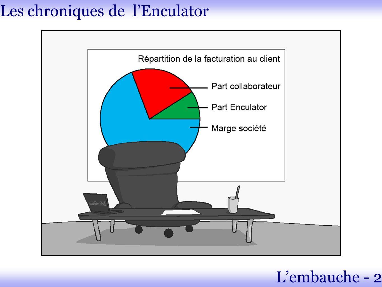 Les chroniques de lEnculator Monsieur Bézé !.Bonjour .