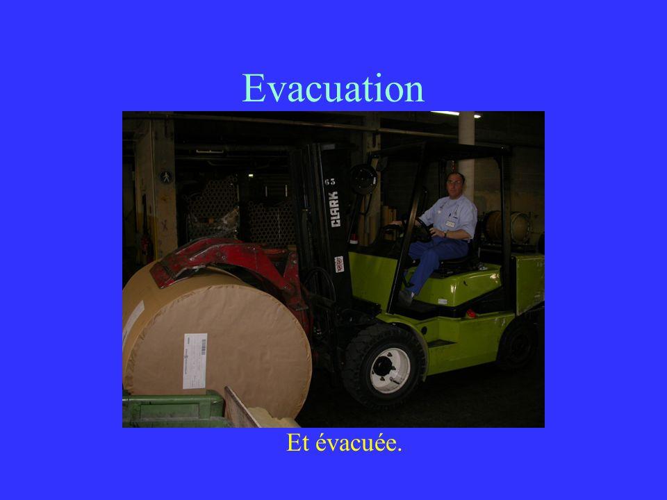 Evacuation Et évacuée.