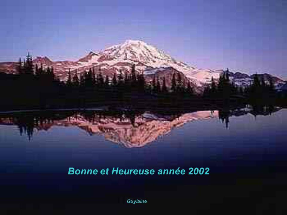Bonne et Heureuse année 2002 Guylaine