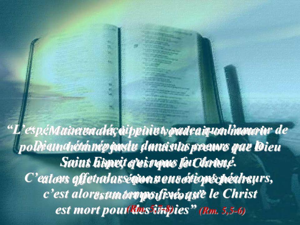 Quand je serai élevé de terre, jattirerai tout à moi… (Jn. 12, 32)