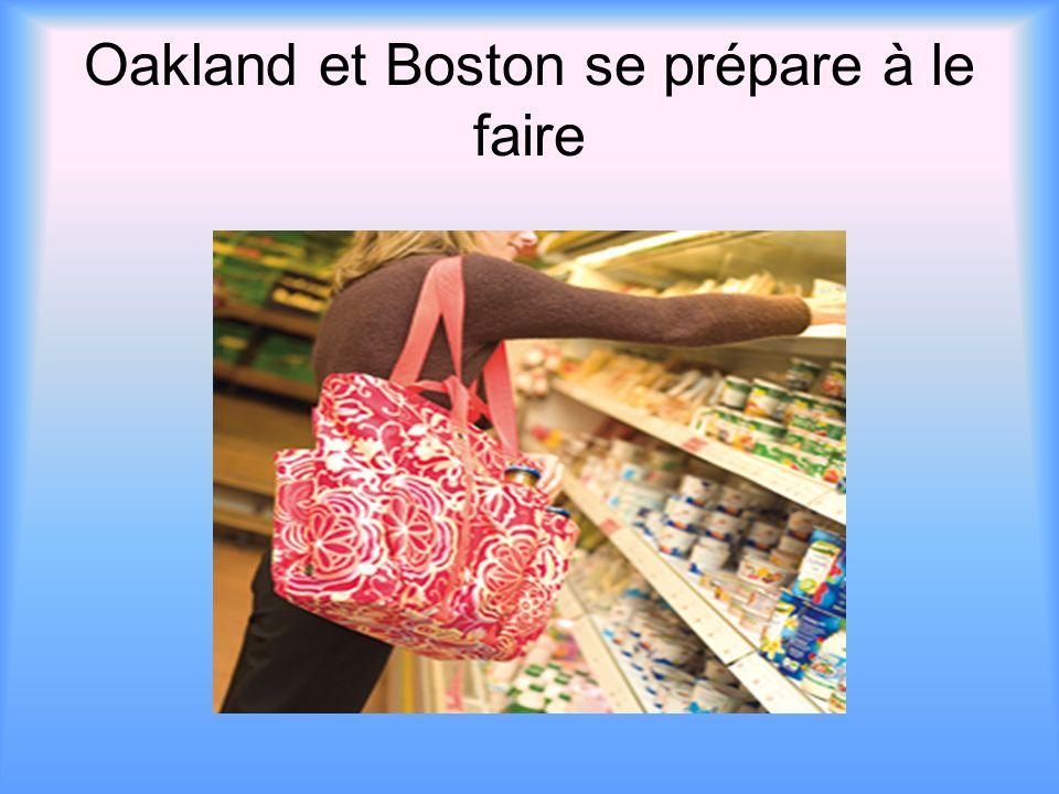 Oakland et Boston se prépare à le faire