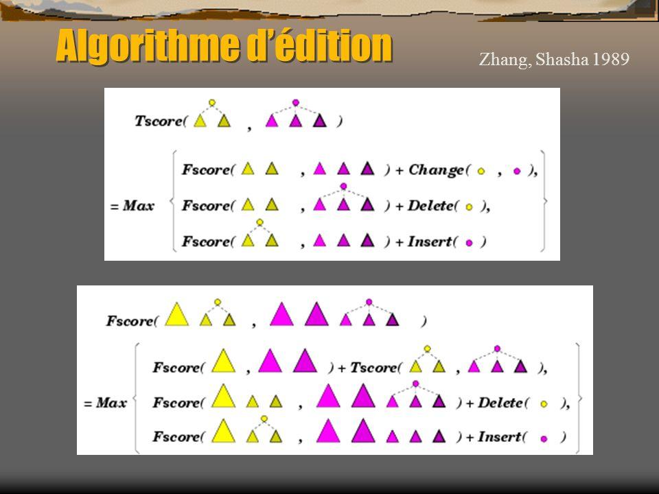 Algorithme dédition Zhang, Shasha 1989