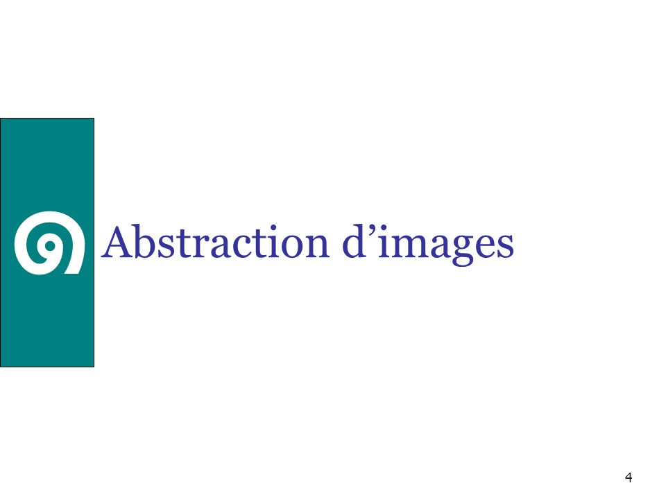 4 Abstraction dimages