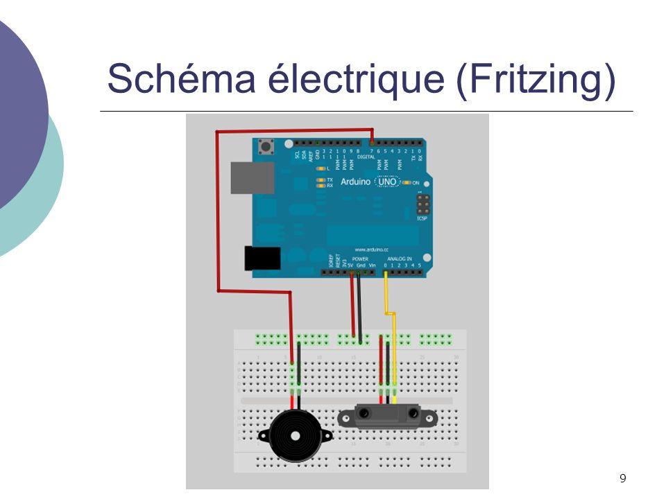 9 Schéma électrique (Fritzing)