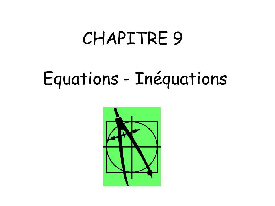 Objectifs: - Résoudre une équation du type A x B = 0 où A et B sont des expressions du 1er degré de la même variable.