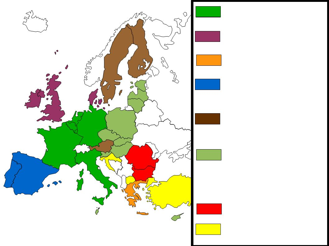 La Mégalopole Européenne Centre : La Mégalopole Européenne : concentre une forte population, les principales métropoles européennes, les axes et flux de communications, les richesses et les fonctions de commandement.