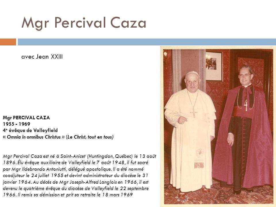 Mgr Robert Lebel Mgr ROBERT LEBEL 1976 - 2000 «Dans la ferveur de l Esprit» Mgr Robert Lebel est né à Trois- Pistoles (Québec) le 8 novembre 1924.