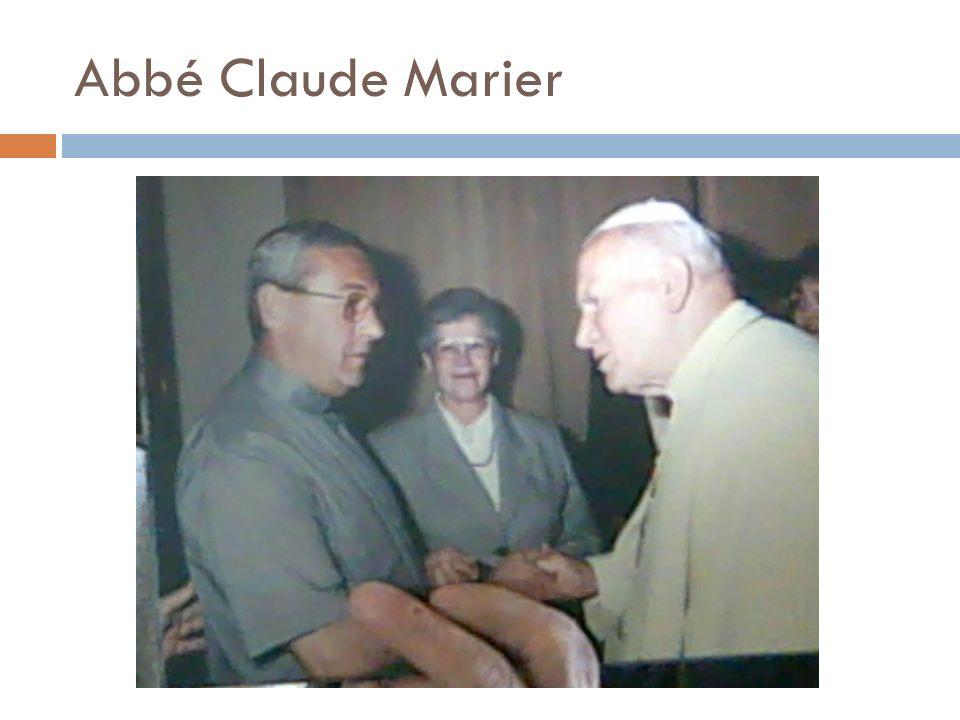 Abbé Claude Marier