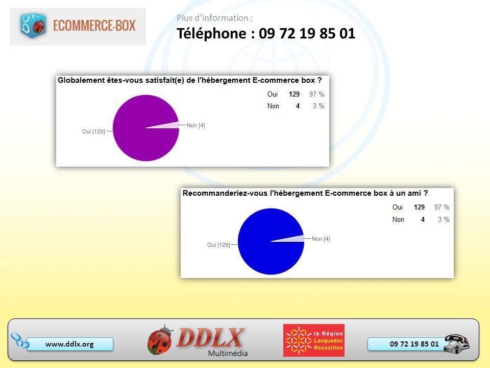 09 72 19 85 01 www.ddlx.org Téléphone : 09 72 19 85 01 Plus dinformation :
