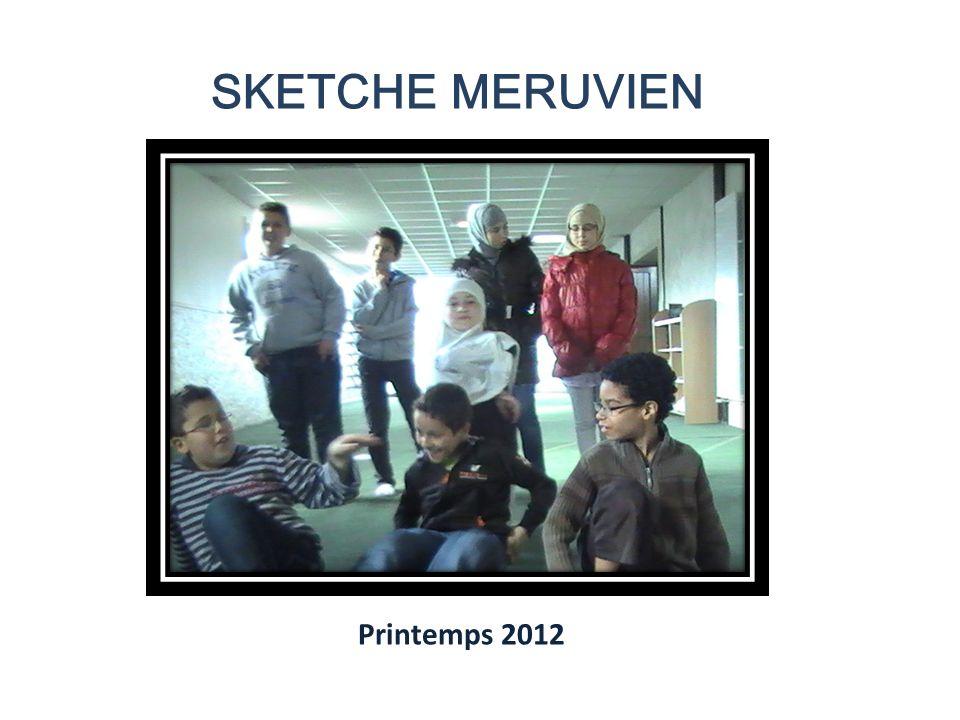 SKETCHE MERUVIEN Printemps 2012