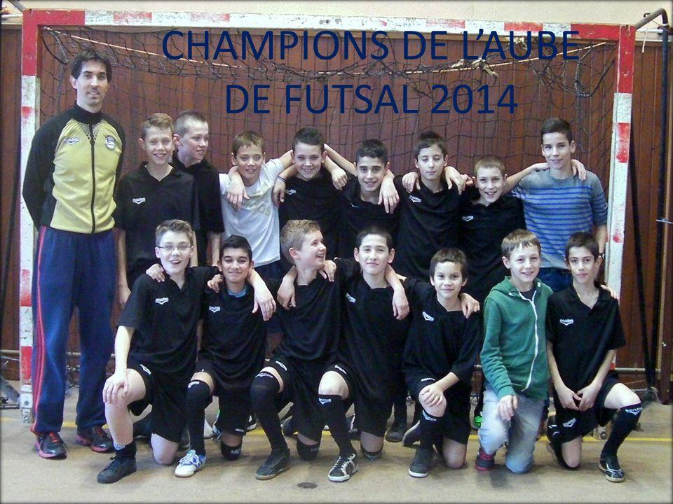 CHAMPIONS DE LAUBE DE FUTSAL 2014