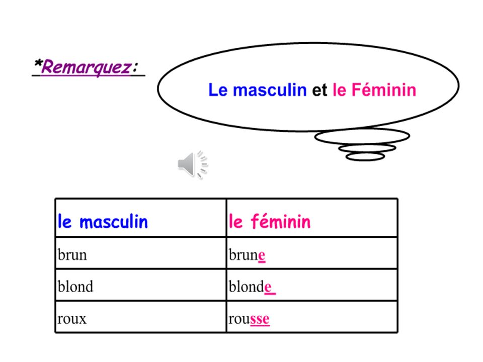 Module 3 Lise et Léa La déscription *Quelle est la différence entre les quatre filles.
