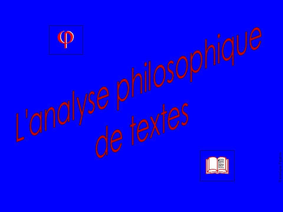Véronique Pageau Donc, dans les textes philosophiques, il y a :