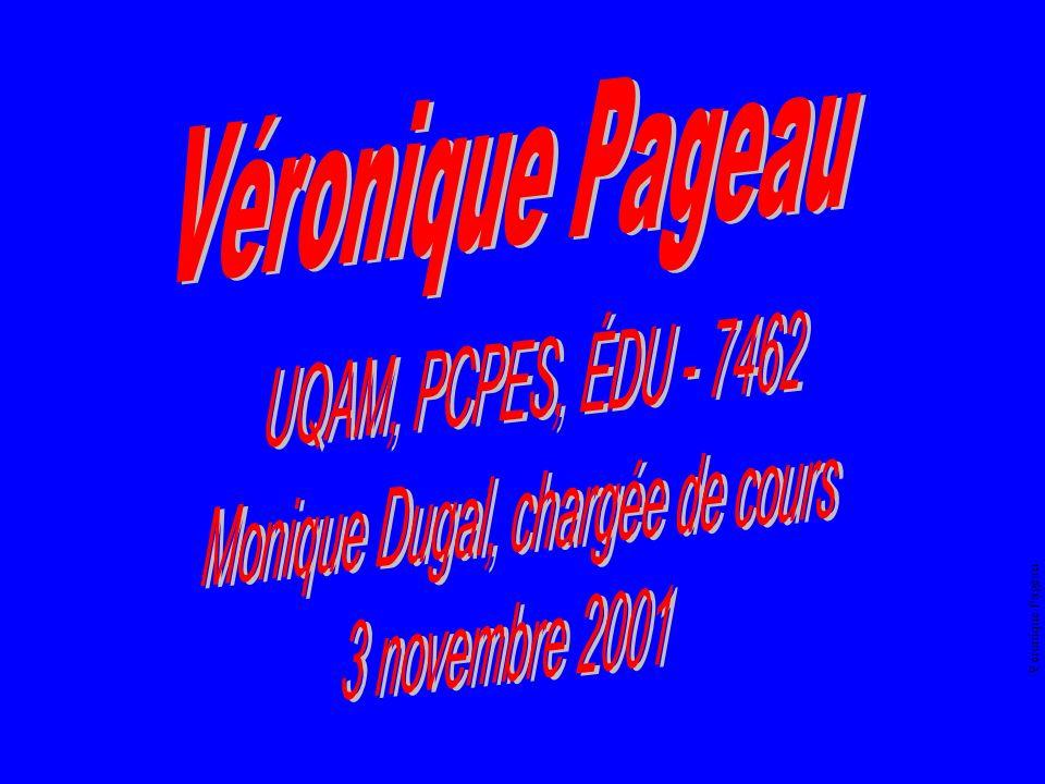 Véronique Pageau Avez-vous compris ? OUINON