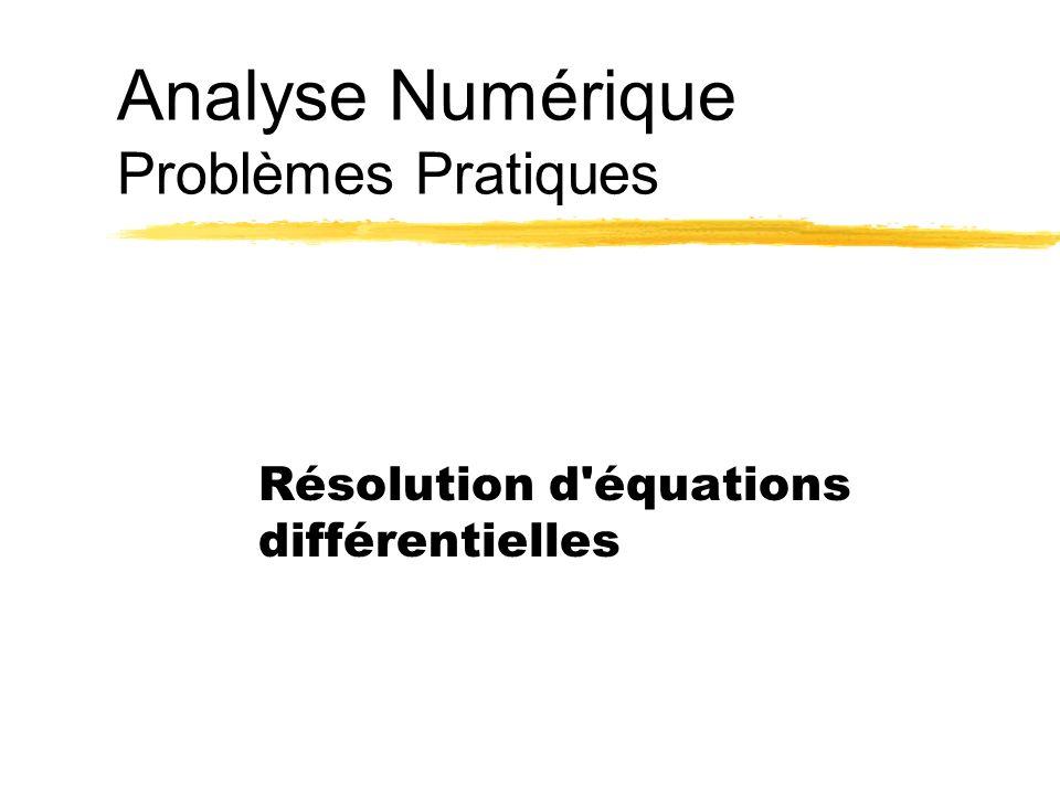 Ph. LerayAnalyse Numérique1 Introduction