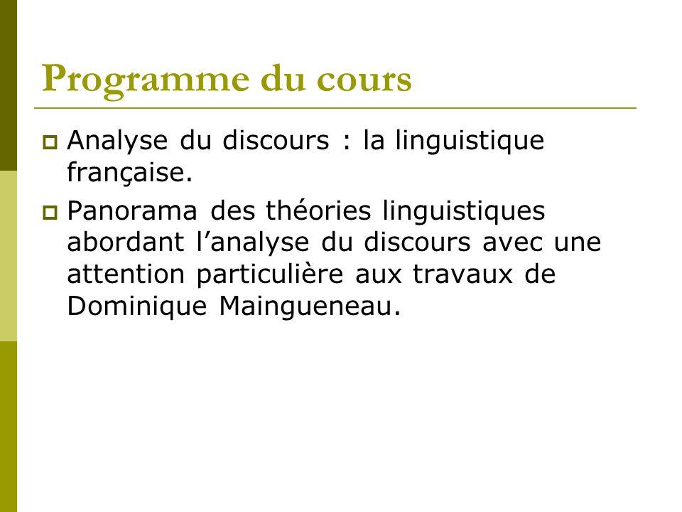 LAD selon le Dictionnaire danalyse du discours, 2002 (1) Discipline qui résulte à la fois de la convergence de courants récents et du renouvellement de pratiques anciennes (rhétorique, etc.).