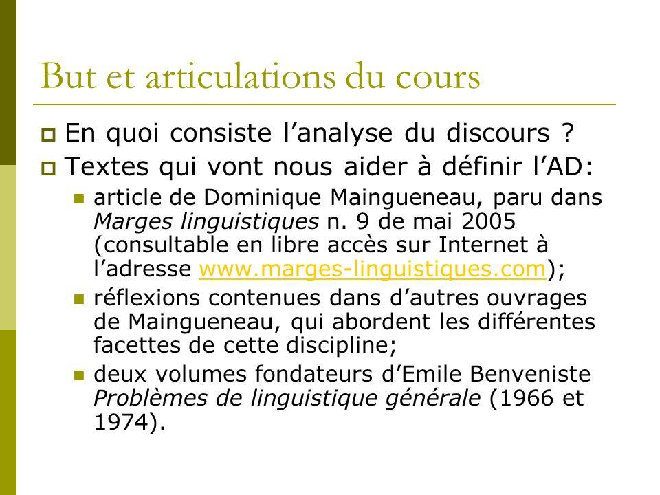 Quelques définitions Patrick Charaudeau, Dominique Maingueneau, Dictionnaire danalyse du discours, Paris, Seuil, 2002