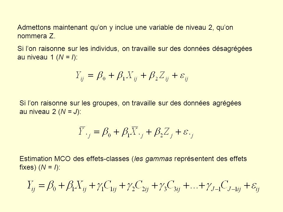 Lestimation de la part de variance inter-groupes Simulation…