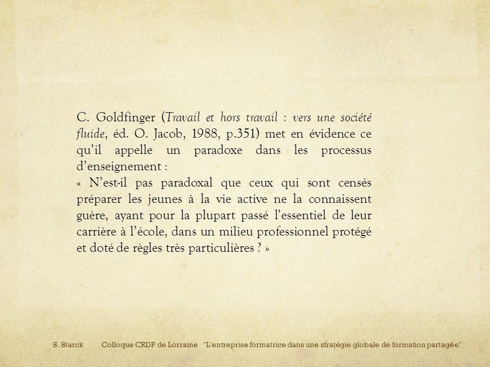 S. Starck Colloque CRDP de Lorraine