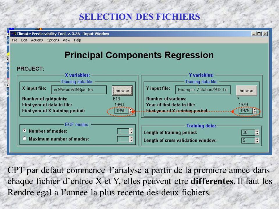 SELECTION DES FICHIERS CPT par defaut commence lanalyse a partir de la premiere annee dans chaque fichier dentrée X et Y, elles peuvent etre different