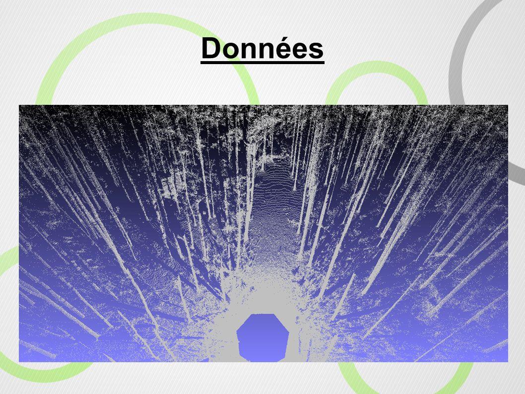 9 Le chargement et le traitement de gros volumes de données donnent lieu à : L utilisation d une grille divisant le nuage de points Le recours à une coupe du nuage de points correspondant à la ROI Afin de minimiser les calculs et l espace mémoire nécessaires.