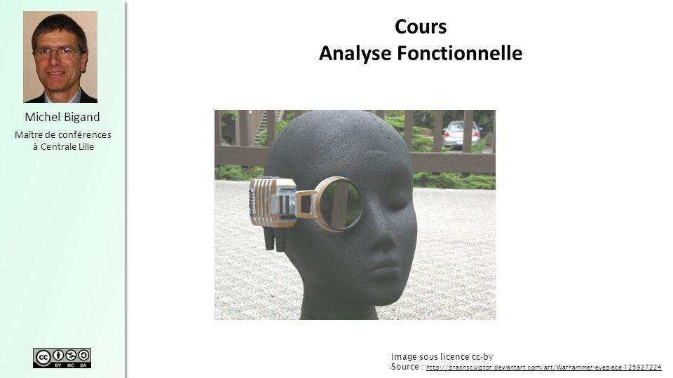 Michel Bigand Maître de conférences à Centrale Lille Cours Analyse Fonctionnelle Image sous licence cc-by Source : http://brashsculptor.deviantart.com