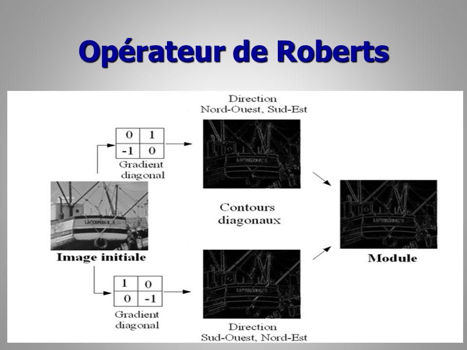 Opérateur de Roberts 26