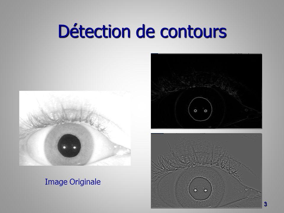 Détection de contours 3 Image Originale