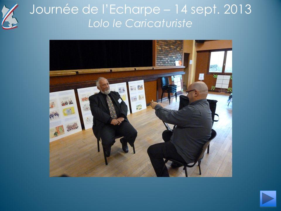Journée de lEcharpe – 14 sept. 2013 Lolo le Caricaturiste