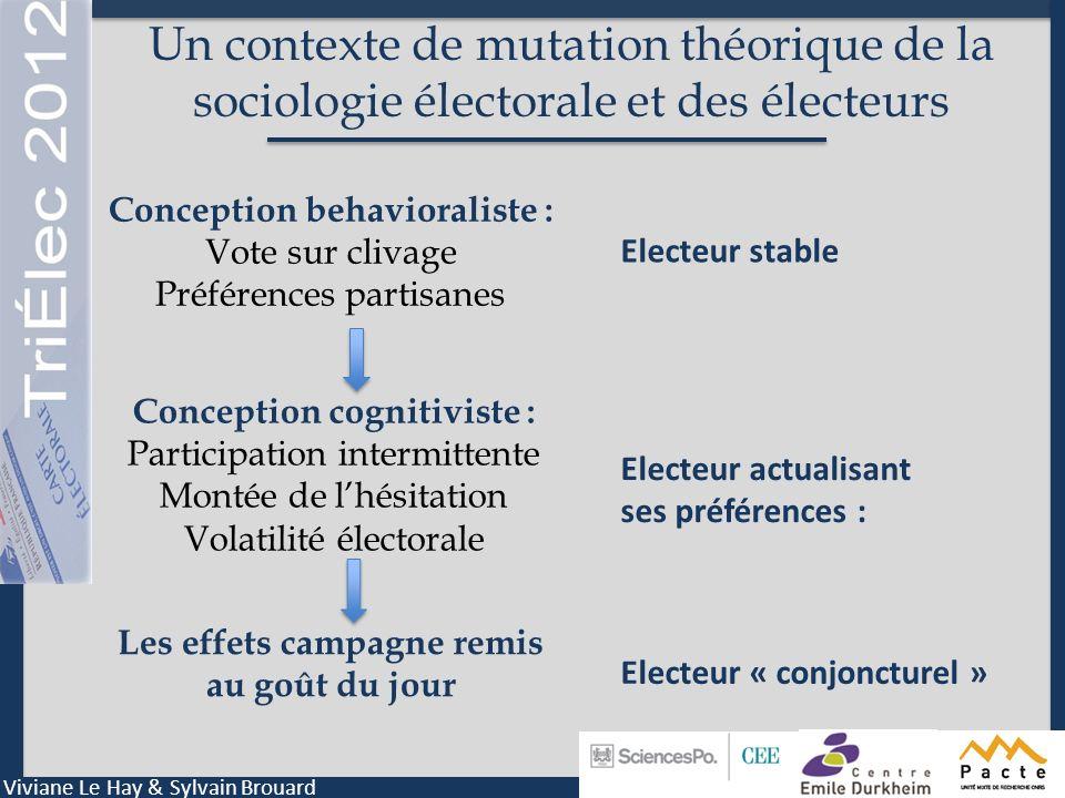 Le score EPICES et ses conséquences politiques Viviane Le Hay & Sylvain Brouard Source : Dynamiques politiques 2012, TriElec 2012, V3, décembre 2011