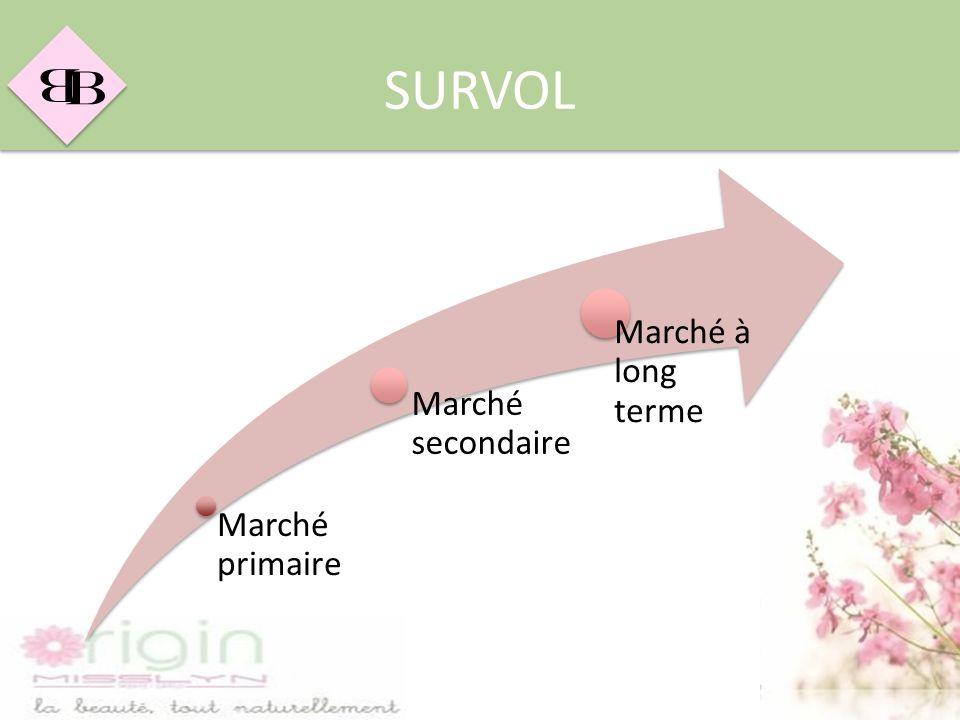 B B SURVOL Marché primaire Marché secondaire Marché à long terme