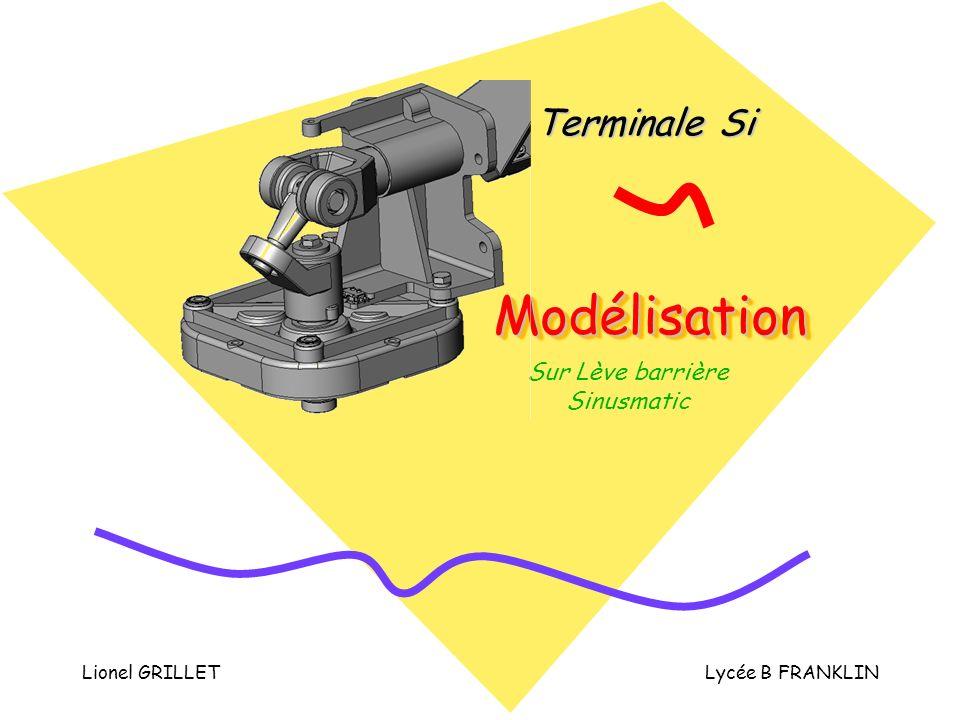 Lionel GRILLETLycée B FRANKLIN ModélisationModélisation Terminale Si Sur Lève barrière Sinusmatic