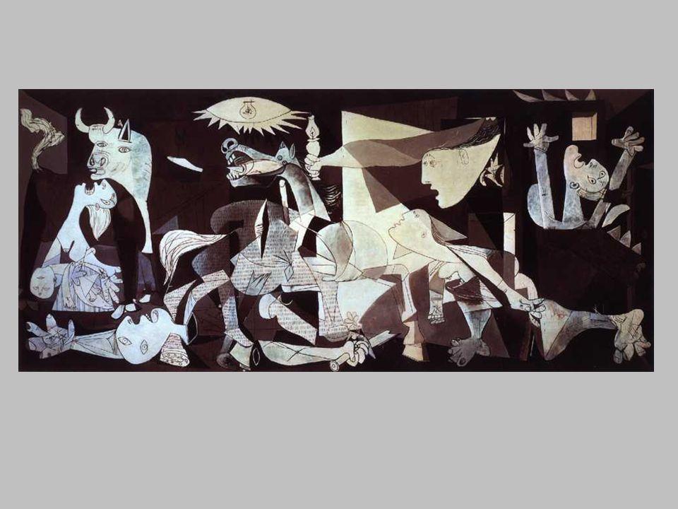 Guernica est un tableau dhistoire Les massacres de Scio, Delacroix Depuis le XVIème siècle, le cheval est associé à la peinture dhistoire, surtout quand il sagit dévoquer une bataille glorieuse.