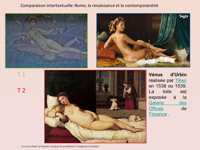 Vénus d Urbin réalisée par Titien en 1538 ou 1539.