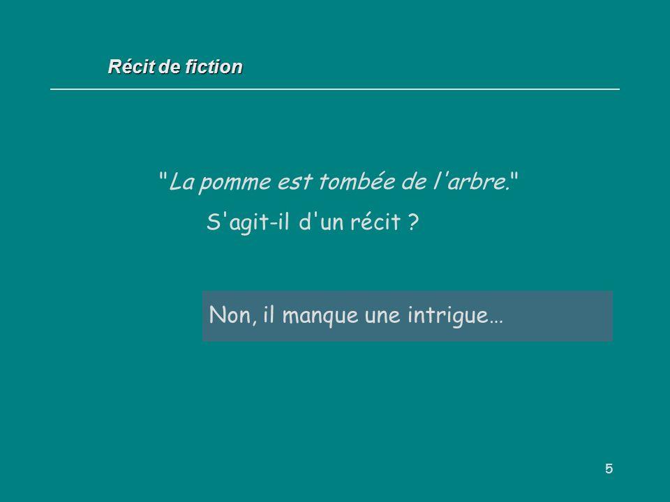 16 Récit de fiction Lorsque la description vise à favoriser la participation du lecteur / spectateur, on dit qu elle remplit une fonction dramatique.