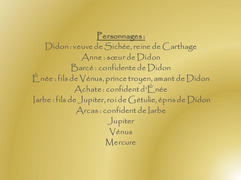 Librettiste : Louise-Geneviève de Gillot de Saintonge, d'après Virgile Tragédie lyrique en un prologue et cinq actes, sur un livret de Mme Gillot de S