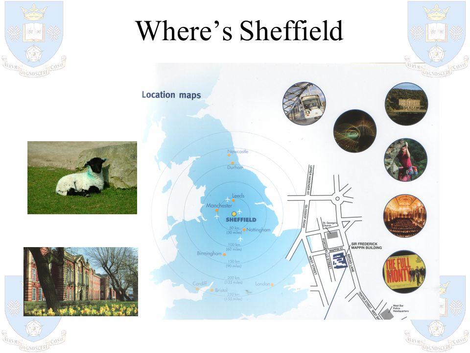 Wheres Sheffield