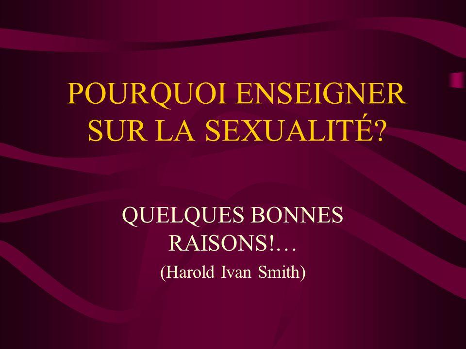 QUESTIONS DE DISCUSSION 4.Est-ce que le sexe garantit lintimité.