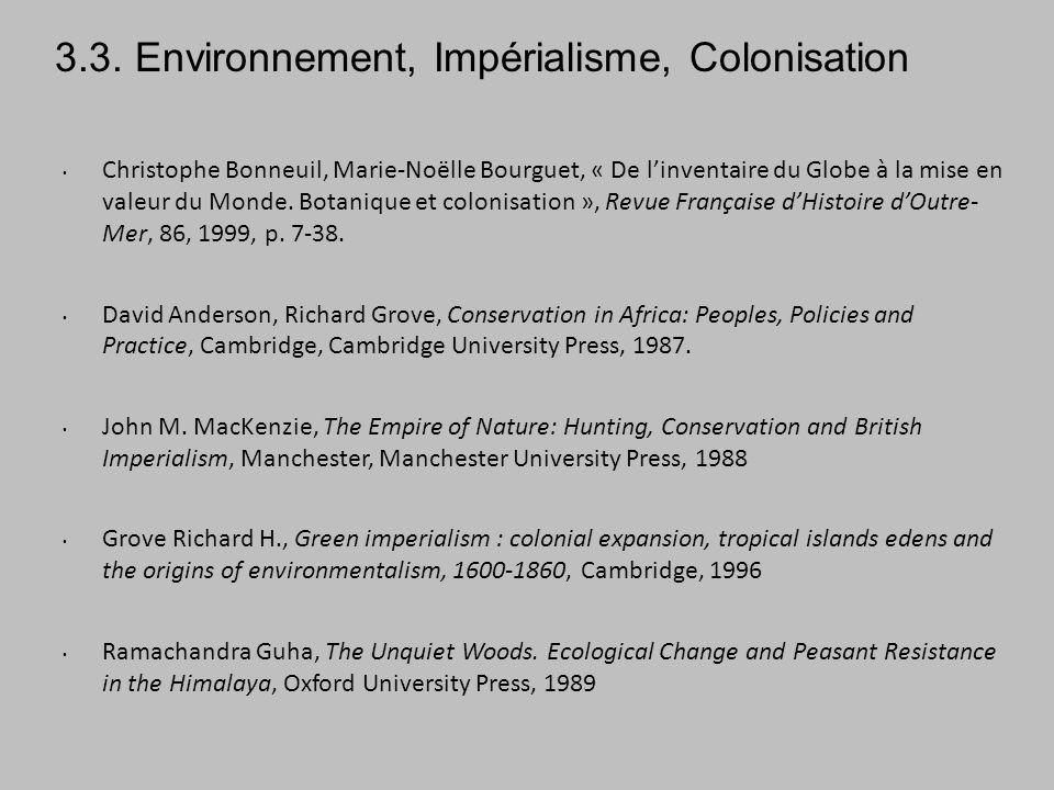 Christophe Bonneuil, Marie-Noëlle Bourguet, « De linventaire du Globe à la mise en valeur du Monde.