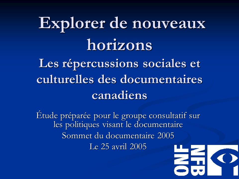 Contexte Sommet du documentaire 2004 et Toute la vérité 2.