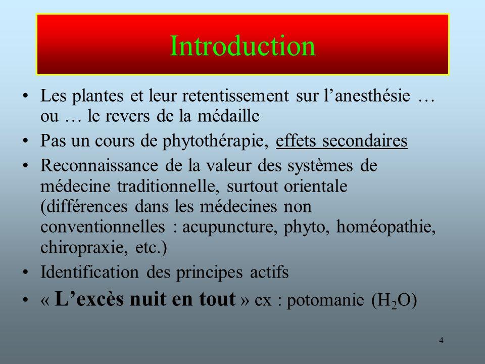 75 Eucalyptus Utilisation : –mucolytique, –expectorant, –Fébrifuge –Analgésique E/S : –Hypoglycémie –Épileptogène et neurotoxique à hte dose –Hypotension