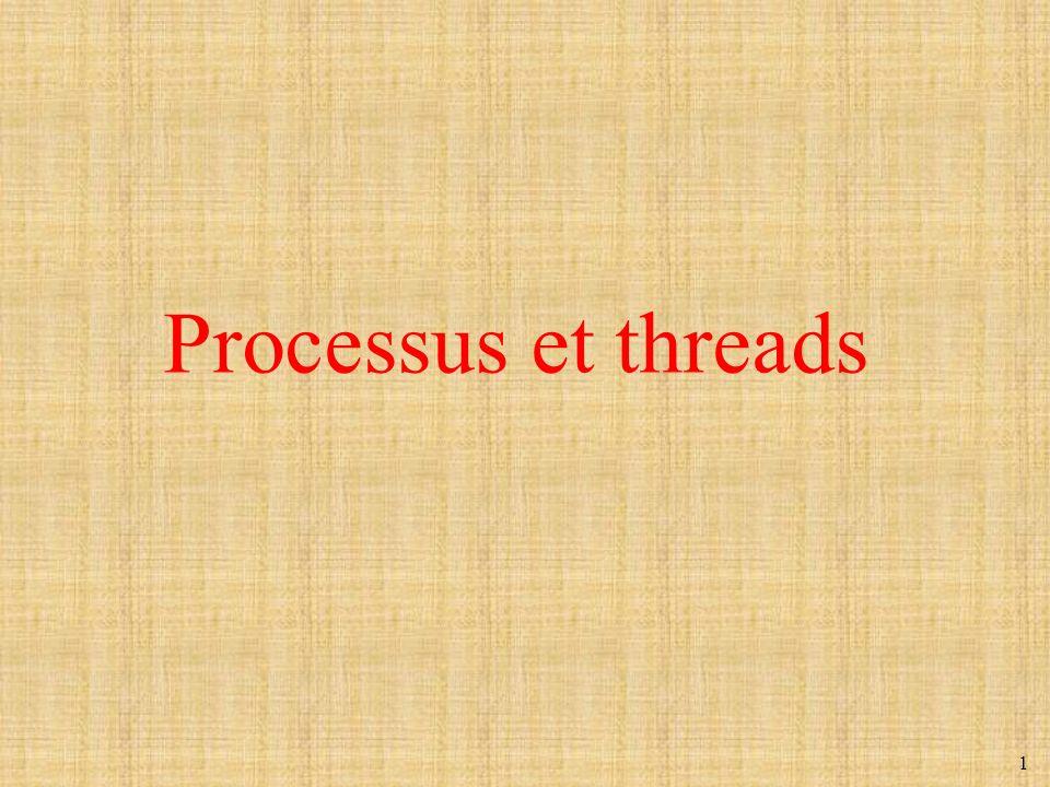 1 Processus et threads