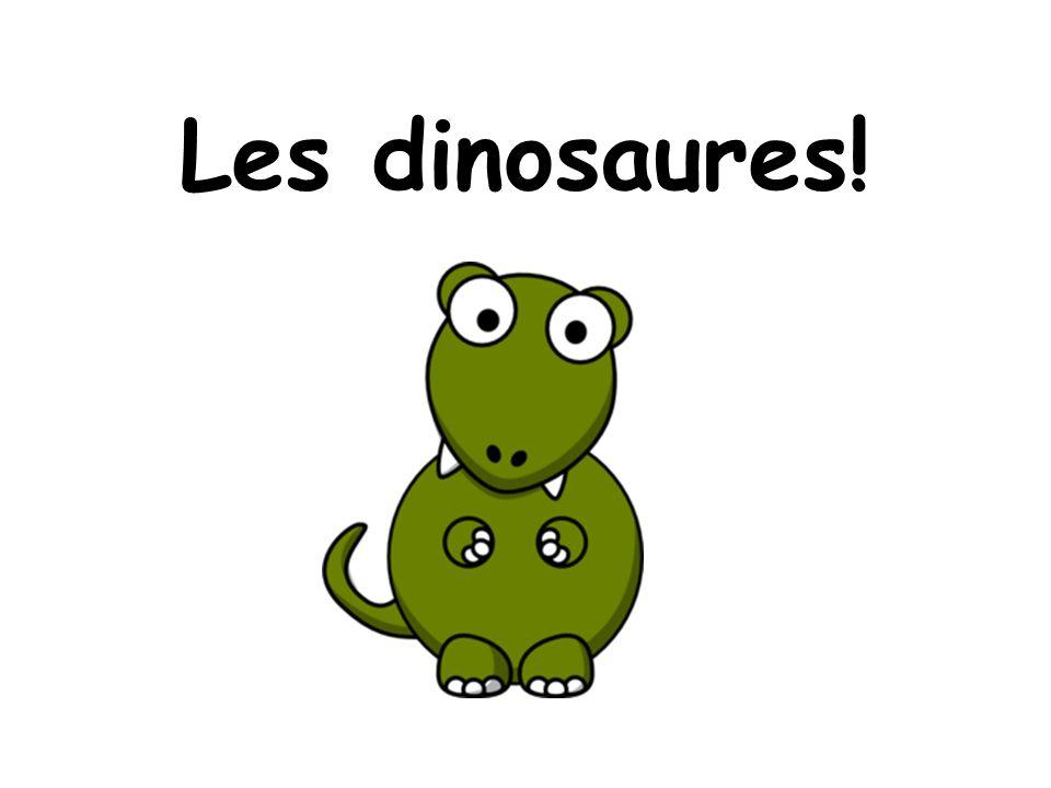 Stegosaure est gros…