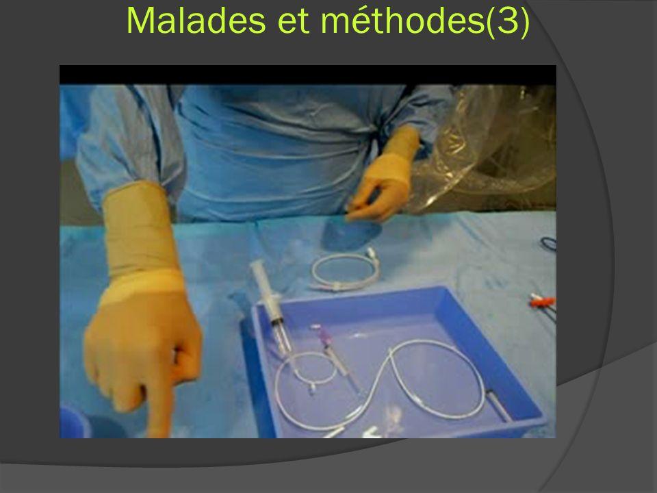 Malades et méthodes(3)