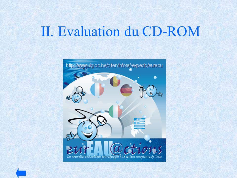 II. Evaluation du CD-ROM