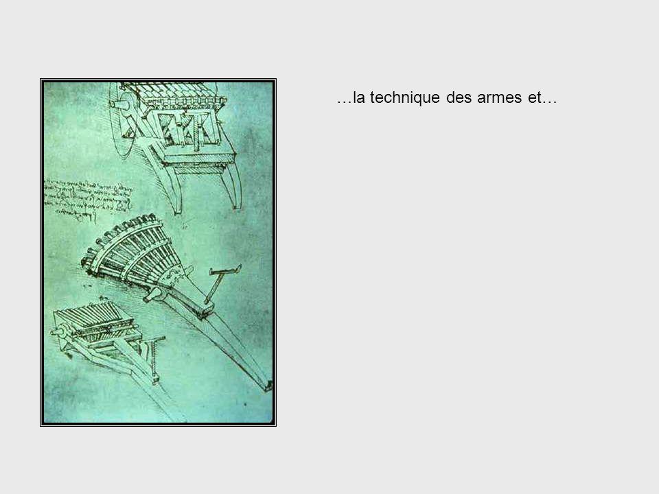 …larchitecture… Da Vinci, cont. – Architecture