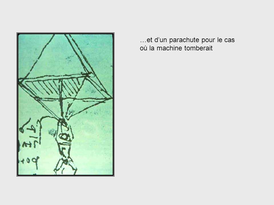 … laéronautique. Ci-contre, lesquisse dune machine volante du 16ème siècle… Da Vinci, cont. – Aeronautical Engineering