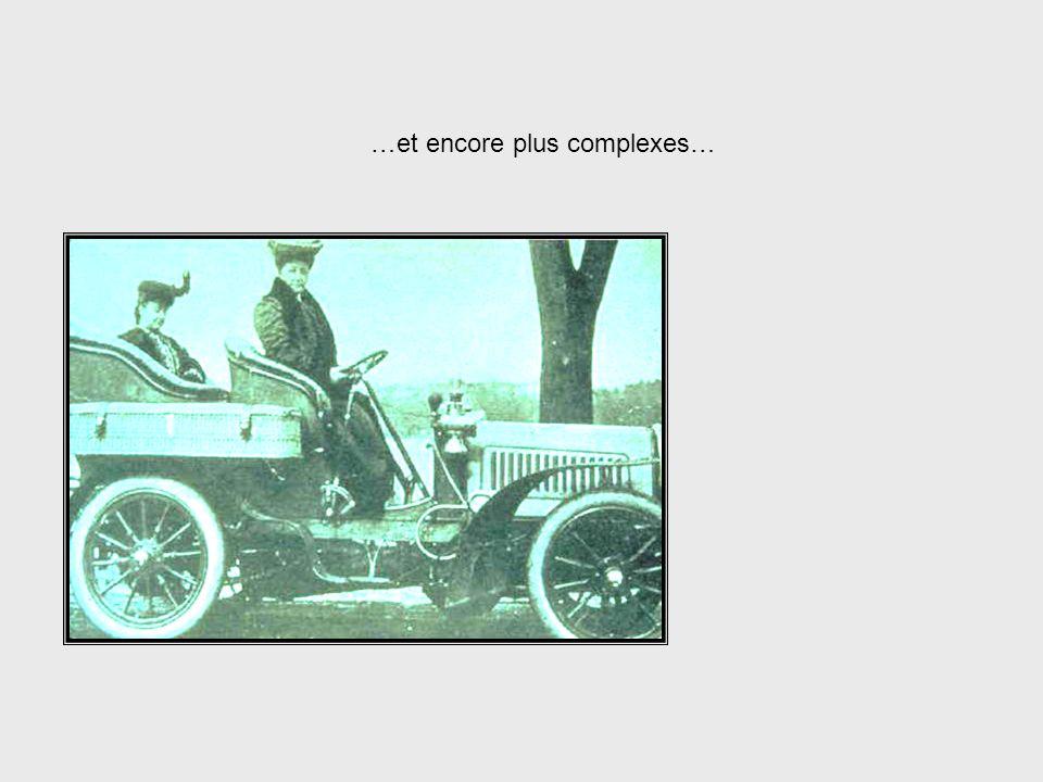 Les systèmes de transport, ne seraient-ce queux, sont devenus plus complexes… Systems Complexity, cont.